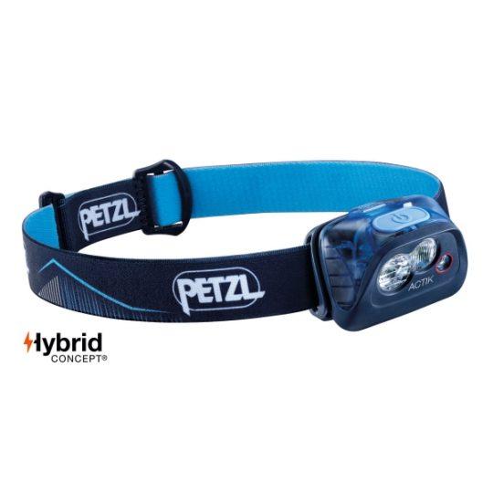 Petzl Actik - 350 lumena - plava