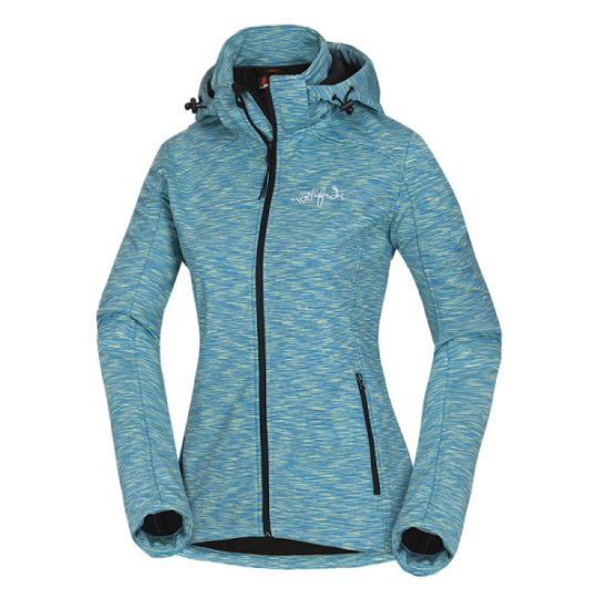 Softshell jakna Lilu - white-blue