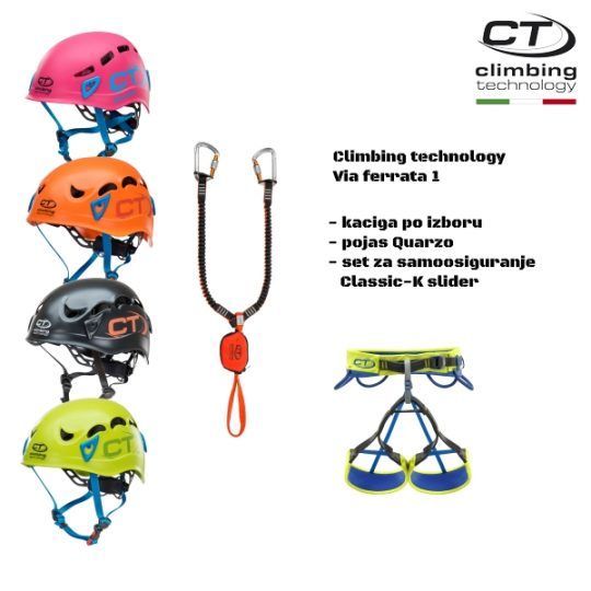 Climbing technology - Via ferrata set 1