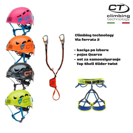 Climbing technology - Via ferrata set 2
