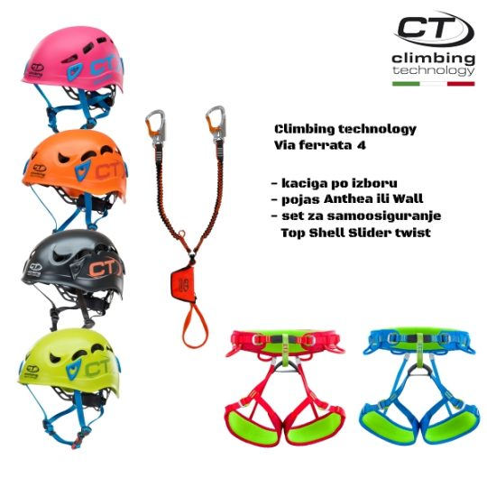 Climbing technology - Via ferrata set 4