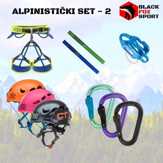 Alpinistički set - 2